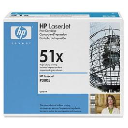 HP Toner Schwarz Q7551X für P3005 M3027 M3035 13k