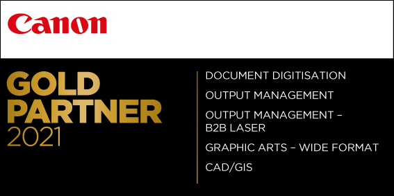 Canon Gold Partner Logo