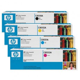 HP Toner-Set (Cyan, Magenta, Yellow, Schwarz) für Color LaserJet 9500