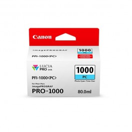 Canon Tinte PFI-1000PC Photo Cyan