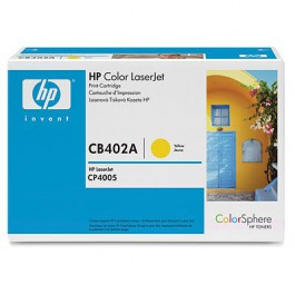 HP Toner Yellow CB402A für Color LaserJet CP4005, 7k5