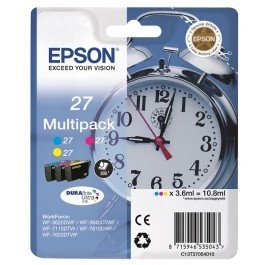 Epson Tinte 27 Multipack CMY C13T27054010