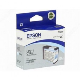 Epson Tinte T5805 Light Cyan, 80 ml
