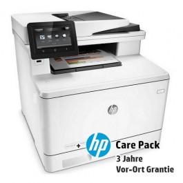 HP Color LaserJet Pro MFP M477fdn mit 3 Jahren Vor-Ort-Garantie