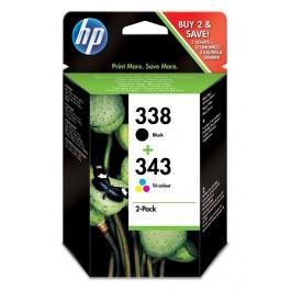 HP Tinte Kombi-Pack Nr. 338 + 343 SD449EE
