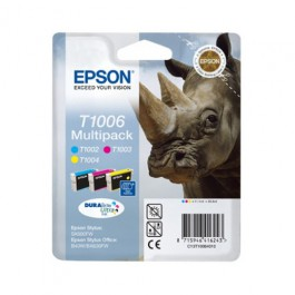 Epson Tinte Multipack T1006 CMY, 33,3 ml