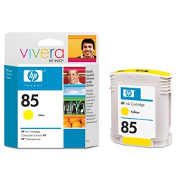 HP Tinte Nr. 85 C9427A Yellow, 69 ml
