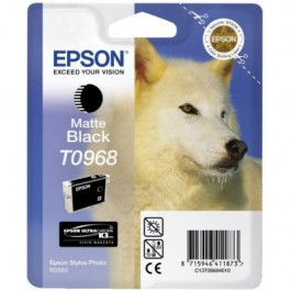 Epson Tinte T0968 Matt Black, 11,4 ml
