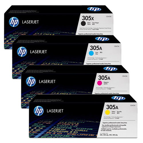 hp toner set cyan magenta yellow schwarz f r laserjet pro m351 m375 m451 m475. Black Bedroom Furniture Sets. Home Design Ideas