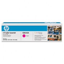 HP Toner Magenta CB543A für Color LaserJet CP1215 CP1515 CM1312, 1k4
