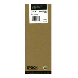 Epson Tinte T6061 Photo Black, 220 ml