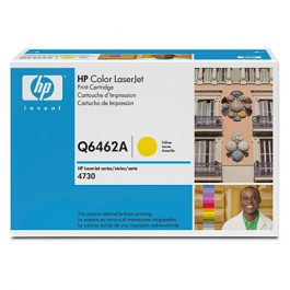 HP Toner Yellow Q6462A für Color LaserJet 4730 CM4730, 12k