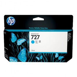 HP Tinte Nr. 727 B3P19A Cyan, 130 ml