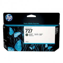 HP Tinte Nr. 727 B3P22A Matt Black, 130 ml