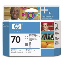 HP Druckkopf Nr. 70 C9410A Gloss Enhancer + Grey