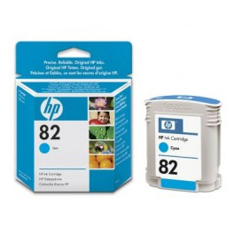 HP Tinte Nr. 82 C4911A Cyan, 69 ml