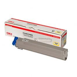 OKI Toner Yellow für C9600 / C9650 / C9800 / C9850, 15.000 Seiten