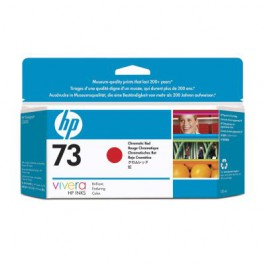 HP Tinte Nr. 73 CD951A Chrome Red, 130 ml