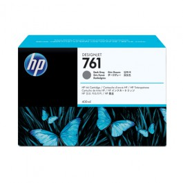 HP Tinte Nr. 761 CM996A Dark Grey, 400 ml