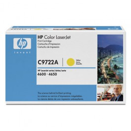 HP Toner C9722A Yellow für Color LaserJet 4600 4650, 8k