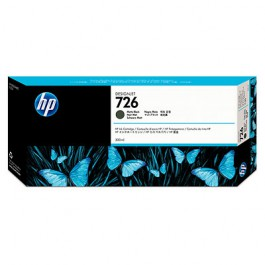 HP Tinte Nr. 726 CH575A Matt Black, 300 ml