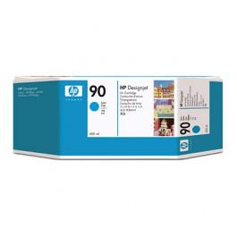 HP Tinte Nr. 90 C5061A Cyan, 400 ml