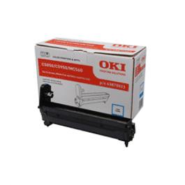 OKI Bildtrommel Cyan für C5600 C5700, 20k