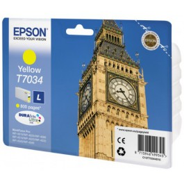 Epson Tinte T7034 Yellow L, 10 ml