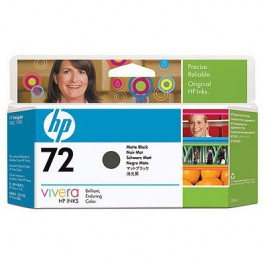 HP Tinte Nr. 72 C9403A Matt Black, 130 ml