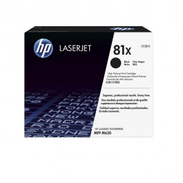 HP Toner 81X Schwarz High Yield