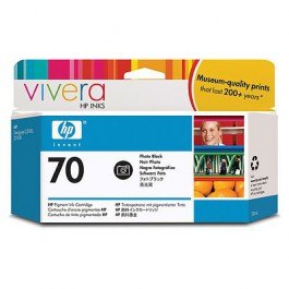 HP Tinte Nr. 70 C9449A Photo Black, 130 ml