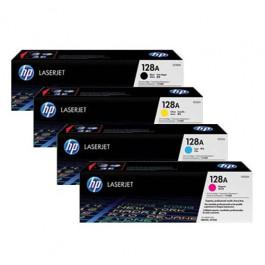 HP Toner-Set Standard Capacity (Cyan, Magenta, Yellow, Schwarz) für Color LaserJet CM1415 CP1525