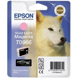 Epson Tinte T0966 Vivid Light Magenta, 11,4 ml