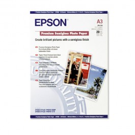 Epson Premium Semigloss Photo Paper C13S041334