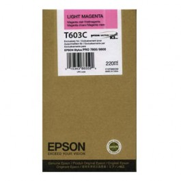 Epson Tinte T603C Light Magenta, 220 ml