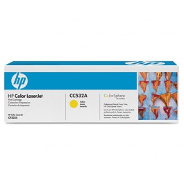 HP Toner Yellow CC532A für Color LaserJet CP2025 CM2320, 2k8