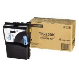 Kyocera Toner Kit TK-820K Schwarz für FS-C8100, 15.000 Seiten