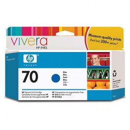 HP Tinte Nr. 70 C9458A Blue, 130 ml