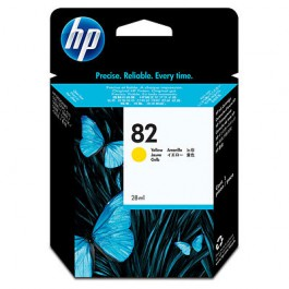 HP Tinte Nr. 82 CH568A Yellow, 28ml