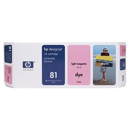 HP Tinte Nr. 81 C4935A Light Magenta, 680 ml