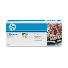 HP Toner Yellow CE742A für Color Laserjet CP5225, 7k3