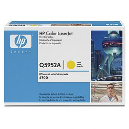 HP Toner Yellow Q5952A für Color LaserJet 4700, 10k