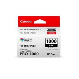 Canon Tinte PFI-1000PBK Photo Schwarz