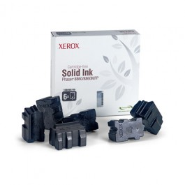 Xerox Solid Ink (6 Sticks) Schwarz für Phaser 8860, 14.000 Seiten