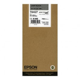 Epson Tinte T6367 Light Black UltraChrome HDR, 700 ml