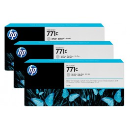 HP Tinte Multipack Nr. 771C B6Y38A Light Grey