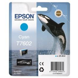 Epson Tinte T7602 Cyan