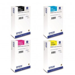 Epson Tintenset XL für WorkForce WF-8010 / WF-8510