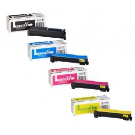 Kyocera Toner-Set TK-540 (Schwarz, Cyan, Magenta, Yellow) für FS-C5100dn