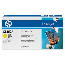 HP Toner Yellow CE252A für Color LaserJet CP3525 CM3530, 7k